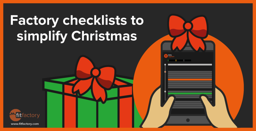 Factory Checklists to Simplify Christmas
