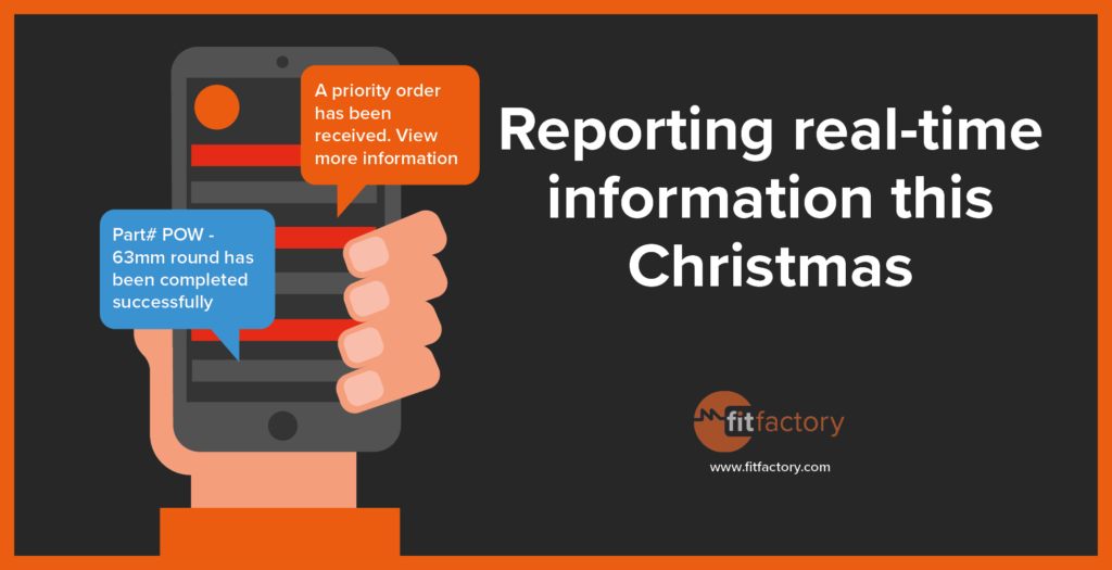 Reporting Real-time Information this Christmas
