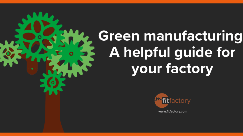 Green manufacturing image